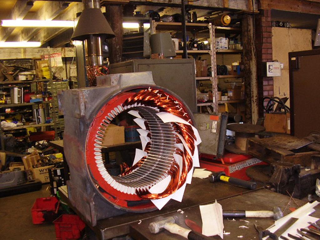 Gallery claremont electric motor repairs for Electric motor repair company